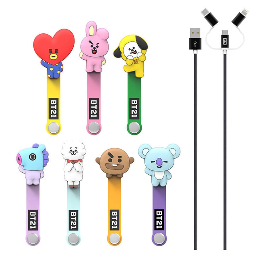 [BT21] 3 in 1 Cable