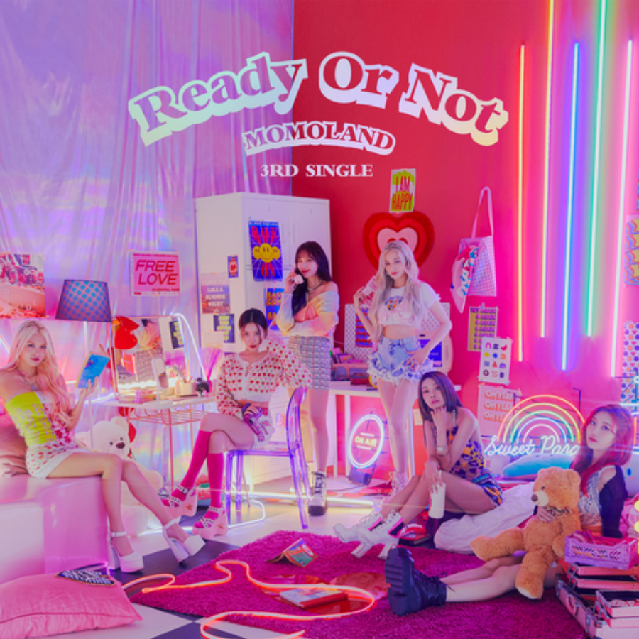 ♥MOMOLAND♥ 3rd Single Album [Ready or Not]